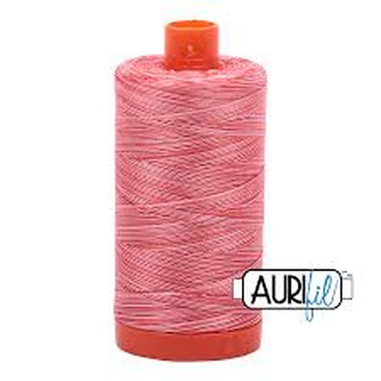 4668 Strawberry Parfait Aurifil Thread 50 Wt 100% Cotton