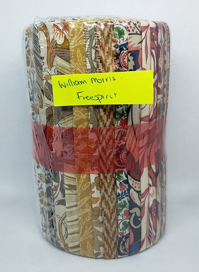 Jelly Roll  5 Strips   william morris