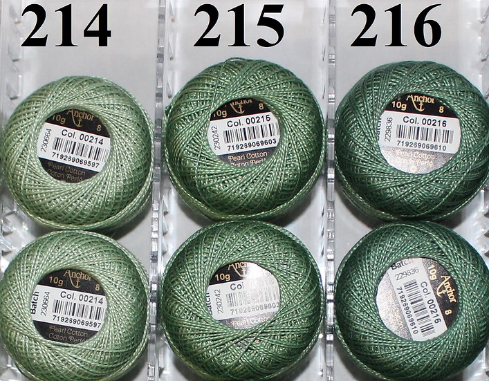 0216 Anchor Pearl 8 Cotton