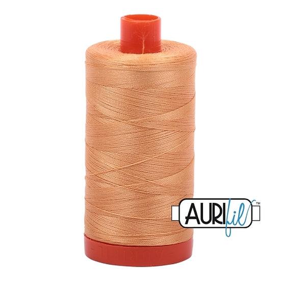 2214 Golden_Honey Aurifil Thread 50 Wt 100% Cotton