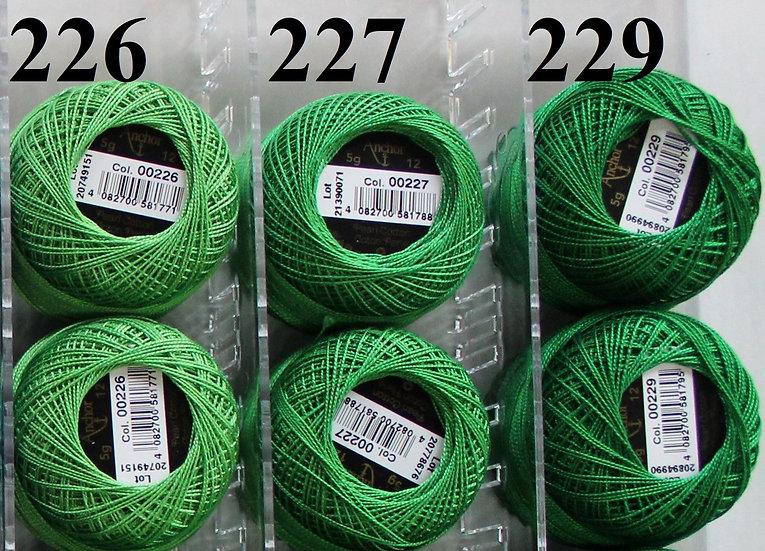 0227 Anchor Pearl 12 Cotton