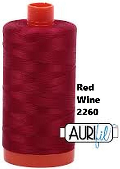 2260 Aurifil Thread 50 Wt 100% Cotton