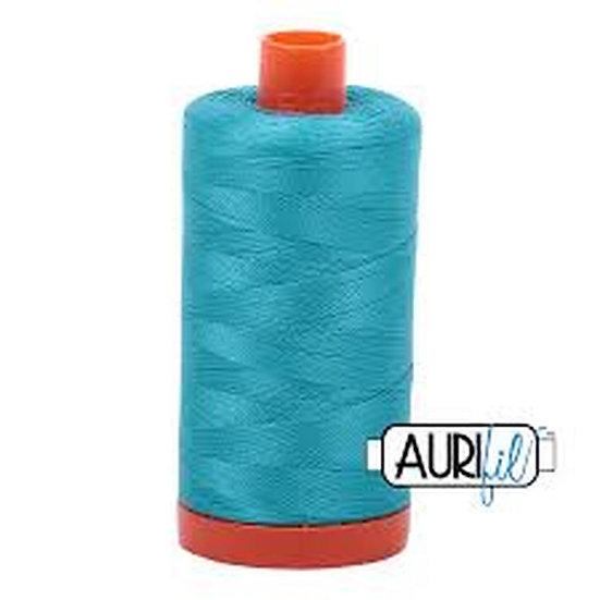 2810 Turquoise  Aurifil Thread 50 Wt 100% Cotton
