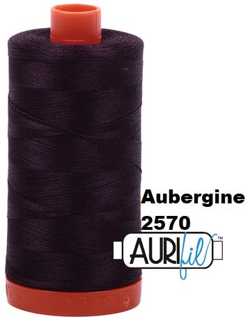 2570 Aurifil Thread 50 Wt 100% Cotton