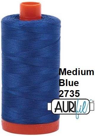 2735 Aurifil Thread 50 Wt 100% Cotton
