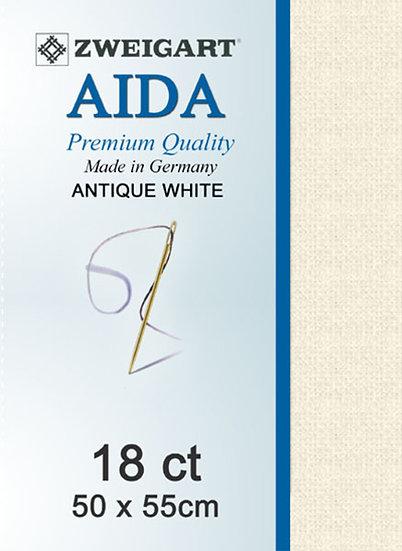 18 Ct Aida Antique White FQ