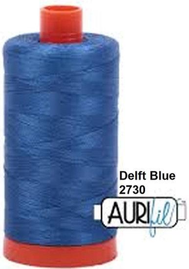 2730 Aurifil Thread 50 Wt 100% Cotton