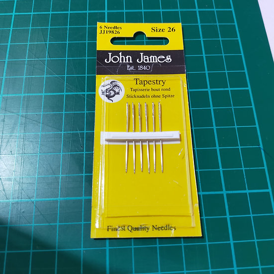 JJ19826 John James Needles  Tapestry Size 26