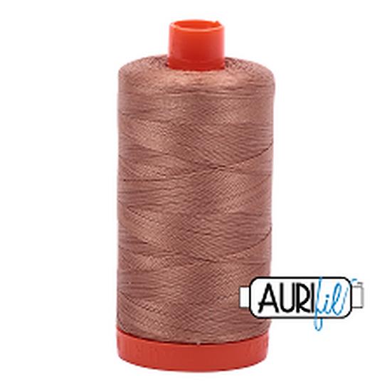 2340 Cafe au Lait Aurifil Thread 50 Wt 100% Cotton