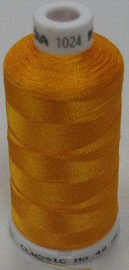 Madeira Rayon Classic 40 #1024 - Goldenrod