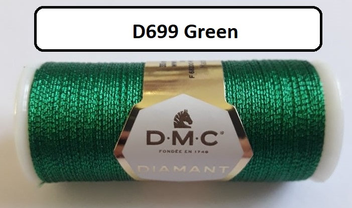 699 DMC  Diamant Metallic Thread