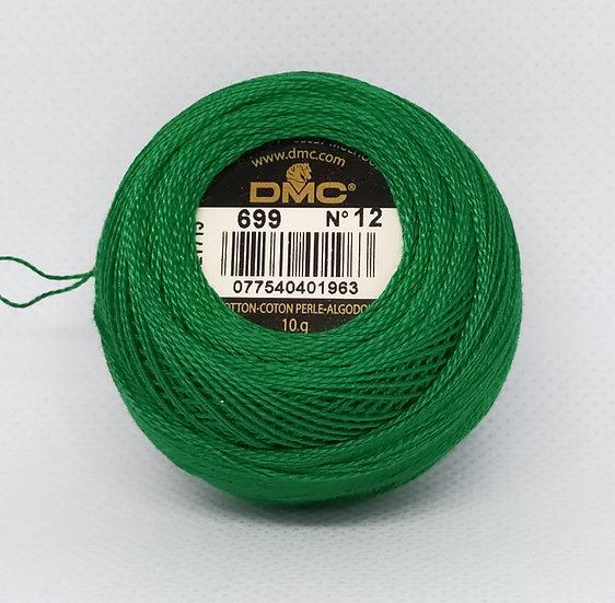 0699  DMC Pearl 12 10g 120 Mtr Balls