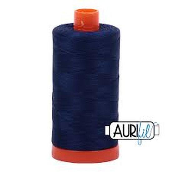 2784 Dark Navy  Aurifil Thread 50 Wt 100% Cotton