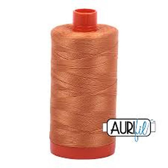 5009 Medium Orange Aurifil Thread 50 Wt 100% Cotton