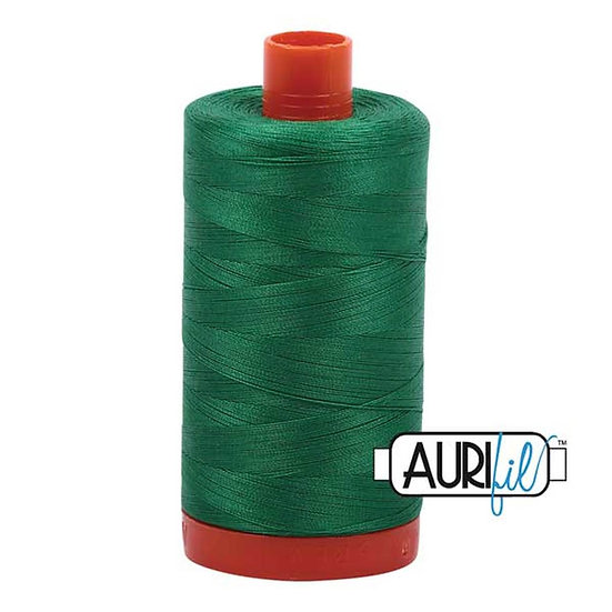 2870 Green Aurifil Thread 50 Wt 100% Cotton