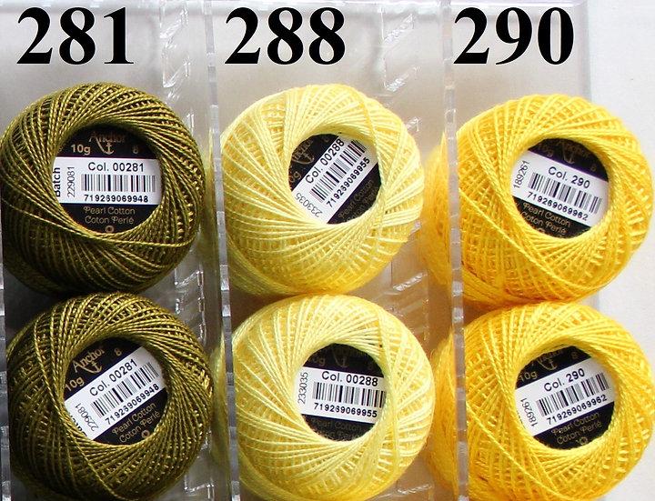 0290 Anchor Pearl 8 Cotton