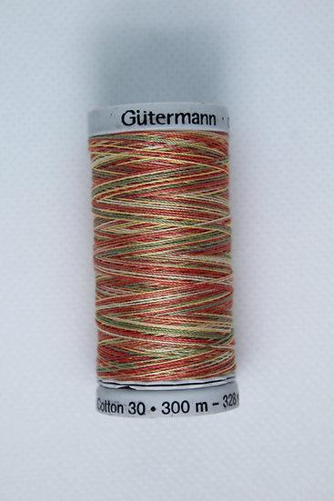 4121 Gutermann Cotton 30 Variegated