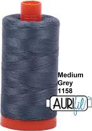 1158 Aurifil Thread 50 Wt 100% Cotton