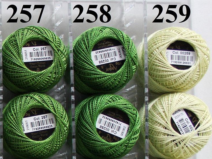 0257 Anchor Pearl 8 Cotton