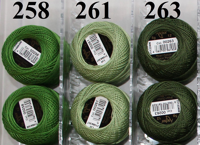0263 Anchor Pearl 12 Cotton
