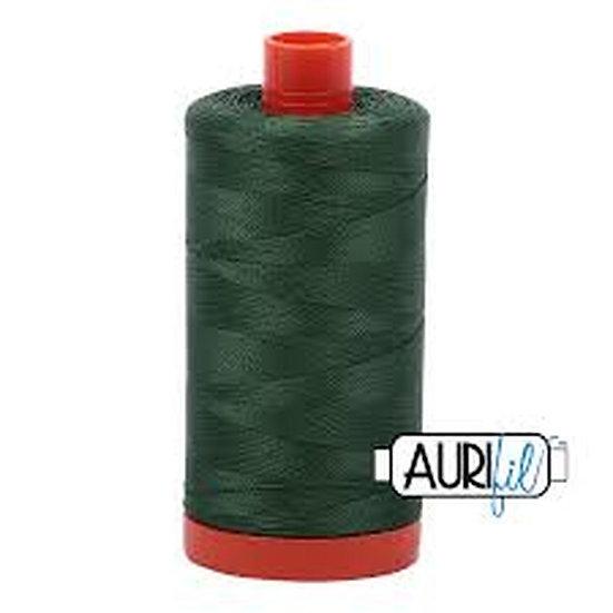 2892 Pine Aurifil Thread 50 Wt 100% Cotton