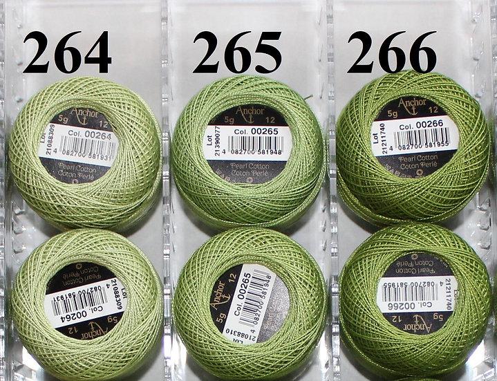 0265 Anchor Pearl 12 Cotton