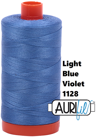 1128 Aurifil Thread 50 Wt 100% Cotton