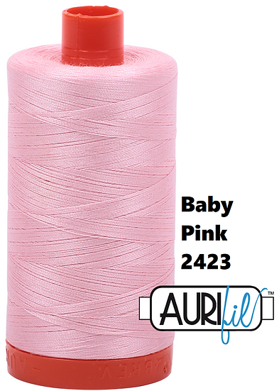 2423 Aurifil Thread 50 Wt 100% Cotton