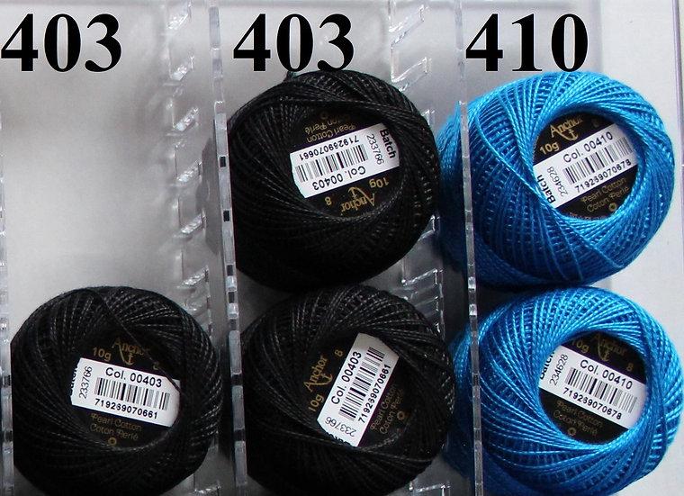 0410 Anchor Pearl 8 Cotton