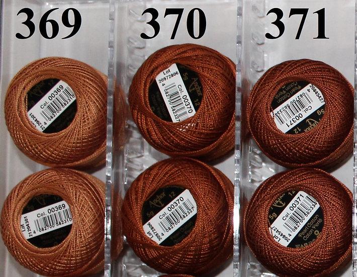 0370 Anchor Pearl 12 Cotton
