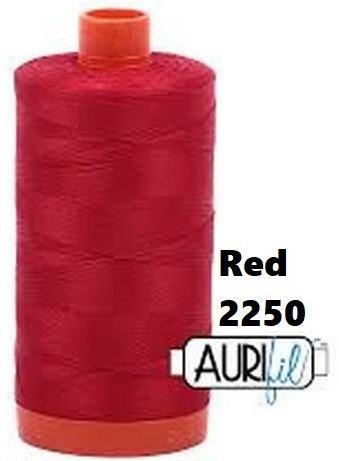 2250 Aurifil Thread 50 Wt 100% Cotton