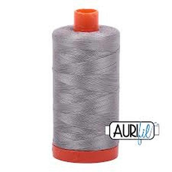 2620 Stainless Steel  Aurifil Thread 50 Wt 100% Cotton