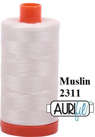 2311 Aurifil Thread 50 Wt 100% Cotton