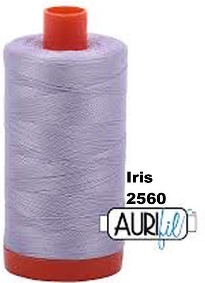 2560 Aurifil Thread 50 Wt 100% Cotton