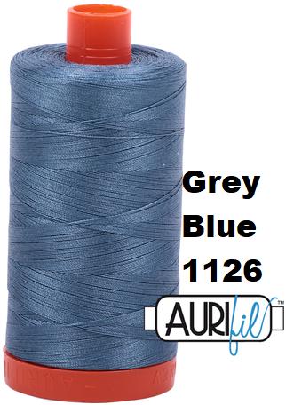 1126 Aurifil Thread 50 Wt 100% Cotton