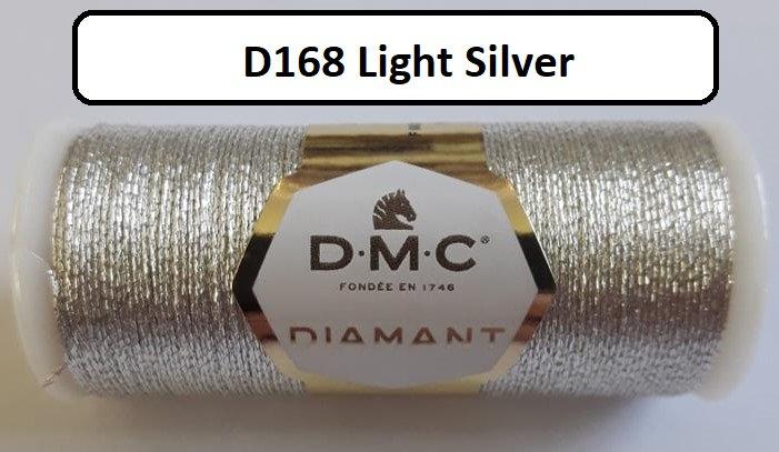168 DMC  Diamant Metallic Thread