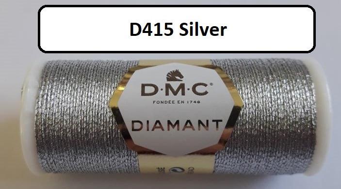 415 DMC  Diamant Metallic Thread