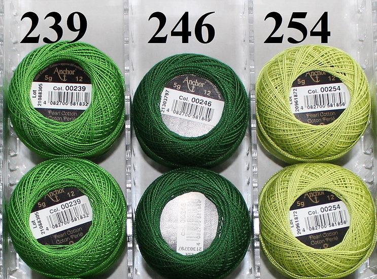 0239 Anchor Pearl 12 Cotton