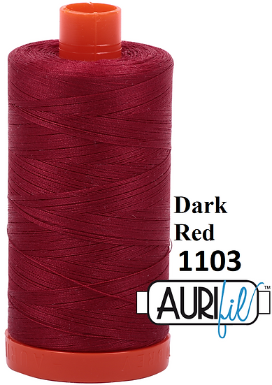 1103 Aurifil Thread 50 Wt 100% Cotton