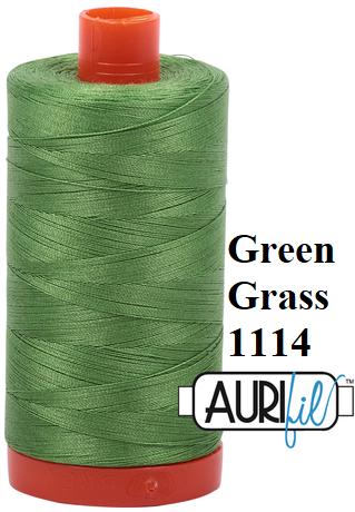 1114 Aurifil Thread 50 Wt 100% Cotton
