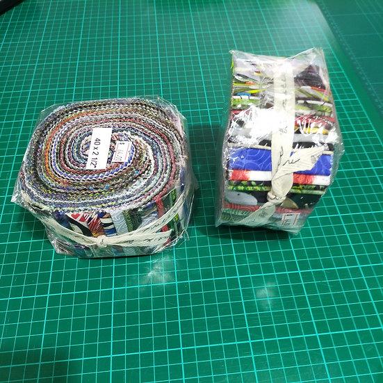 Jelly Roll    2.5 Strips   Kiwi Roll
