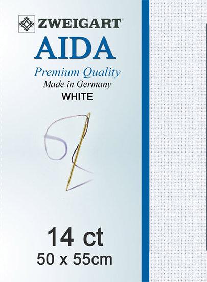 14 Ct Aida White FQ