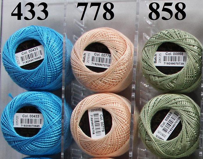 0433 Anchor Pearl 8 Cotton