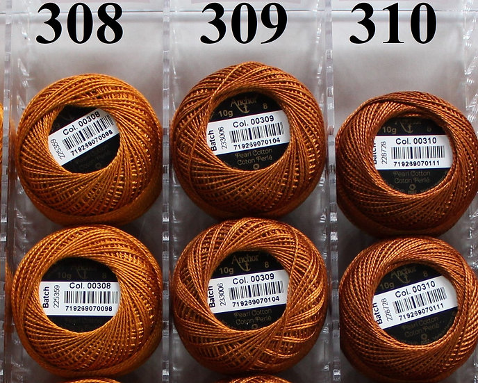 0308 Anchor Pearl 8 Cotton
