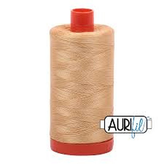 5001 Ocher Yellow Aurifil Thread 50 Wt 100% Cotton