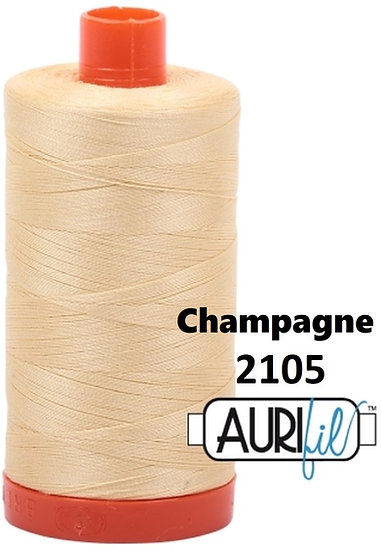 2105 Aurifil Thread 50 Wt 100% Cotton