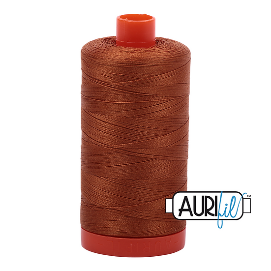 2155 Cinnamon Aurifil Thread 50 Wt 100% Cotton