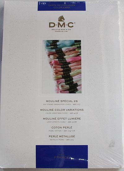 DMC  Cotton Colour Chart