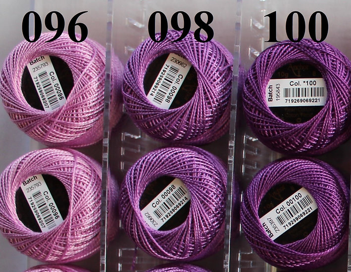 0100 Anchor Pearl 8 Cotton