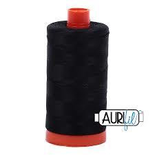2692 Black  Aurifil Thread 50 Wt 100% Cotton